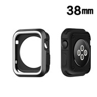Performance Sports Bumper Case for Apple Watch 38mm - White Black