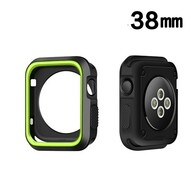 Performance Sports Bumper Case for Apple Watch 38mm - Green Black