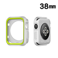 *Sale* Performance Sports Bumper Case for Apple Watch 38mm - Green Grey