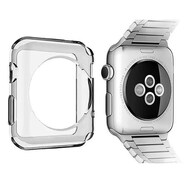 Thermoplastic Polyurethane Bumper Case for Apple Watch 38mm - Smoke