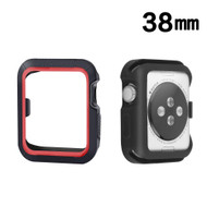 Sport Bumper Case for Apple Watch 38mm - Red Black