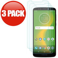 *SALE* HD Premium 2.5D Round Edge Tempered Glass Screen Protector for Motorola Moto E5 Plus - 3 Pack