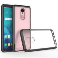 Polymer Transparent Hybrid Case for LG Stylo 4 - Black