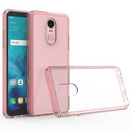 *Sale* Polymer Transparent Hybrid Case for LG Stylo 4 - Pink