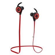 Bluetooth V4.1 Wireless In-Ear Sweatproof Fitness Headphones with Microphone - Red