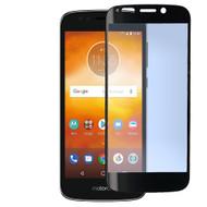 Premium 2.5D Round Edge HD Tempered Glass Screen Protector for Motorola Moto E5 Play / E5 Cruise - Black