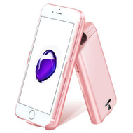 *SALE* Smart Power Bank Battery Case 5000mAh with Tempered Glass Screen Protector for iPhone 8 / 7 / 6S / 6 - Rose Gold