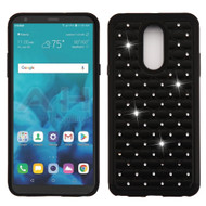 TotalDefense Diamond Hybrid Case for LG Stylo 4 - Black