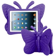 Kids Friendly Butterfly Shock Proof Case with Adjustable Wings for iPad 2, iPad 3 and iPad 4th Generation - Purple