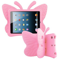 Kids Friendly Butterfly Shock Proof Case with Adjustable Wings for iPad Mini 1 / 2 / 3 / 4th Generation - Pink