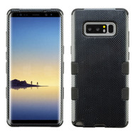 Military Grade Certified TUFF Image Hybrid Armor Case for Samsung Galaxy Note 8 - Carbon Fiber