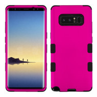Military Grade Certified TUFF Hybrid Armor Case for Samsung Galaxy Note 8 - Hot Pink