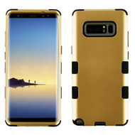 Military Grade Certified TUFF Hybrid Armor Case for Samsung Galaxy Note 8 - Gold