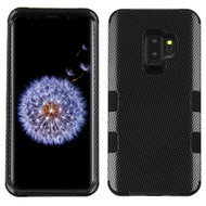 Military Grade Certified TUFF Image Hybrid Armor Case for Samsung Galaxy S9 Plus - Carbon Fiber