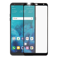 Premium Full Coverage 2.5D Tempered Glass Screen Protector for LG Stylo 4 - Black
