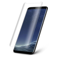 3D Curved Full Coverage Premium Tempered Glass Screen Protector for Samsung Galaxy S8 Plus - Clear
