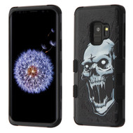 Military Grade Certified TUFF Image Hybrid Armor Case for Samsung Galaxy S9 - Vampire 050