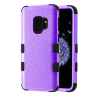 Military Grade Certified TUFF Hybrid Armor Case for Samsung Galaxy S9 - Purple 406