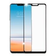 Premium Full Coverage 2.5D Tempered Glass Screen Protector for LG G7 ThinQ - Black