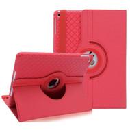 *Sale* 360 Degree Smart Rotating Hybrid Case for iPad (2018/2017) / iPad Air / iPad Air 2 - Checker Red