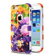 Military Grade Certified TUFF Image Hybrid Armor Case for iPhone 6 / 6S - Chrysanthemum Field