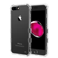TUFF Klarity Premium Transparent Anti-Shock TPU Case for iPhone 8 Plus / 7 Plus / 6S Plus / 6 Plus - Clear