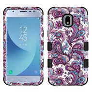 Military Grade Certified TUFF Image Hybrid Armor Case for Samsung Galaxy J3 (2018) - Persian Paisley