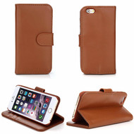 Genuine Leather Executive Wallet Case for iPhone 6 / 6S - Brown