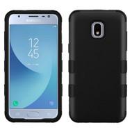 Military Grade Certified TUFF Hybrid Armor Case for Samsung Galaxy J3 (2018) - Black