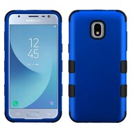 Military Grade Certified TUFF Hybrid Armor Case for Samsung Galaxy J3 (2018) - Blue