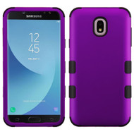 Military Grade Certified TUFF Hybrid Armor Case for Samsung Galaxy J7 (2018) - Purple