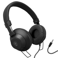 HyperGear V50 Stereo Headphones with In-Line Microphone and Remote - Black