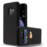 Under Cover Card Slot Case for Samsung Galaxy S9 - Black