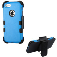 Military Grade Certified TUFF Hybrid Armor Case with Holster for iPhone 8 / 7 - Blue 255