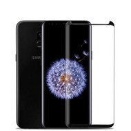 3D Full Curved Coverage Tempered Glass Screen Protector with Installation Tray for Samsung Galaxy S9 Plus - Black
