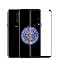 3D Curved Full Coverage Tempered Glass Screen Protector with Installation Tray for Samsung Galaxy S9 Plus - Black