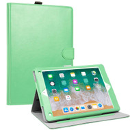 Smart Leather Folio Wallet Stand Case with Auto Sleep/Wake for iPad Pro 10.5 inch - Mint Green