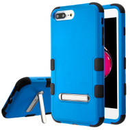 Military Grade Certified TUFF Hybrid Armor Case with Stand for iPhone 8 Plus / 7 Plus / 6S Plus / 6 Plus - Blue