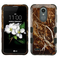 Military Grade Certified TUFF Image Hybrid Case for LG Aristo 2 / Fortune 2 / K8 (2018) / Tribute Dynasty / Zone 4 - Tree Camouflage