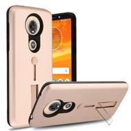 Finger Loop Case with Kickstand for Motorola Moto E5 Plus - Rose Gold