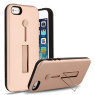 Finger Loop Case with Kickstand for iPhone SE / 5S / 5 - Rose Gold