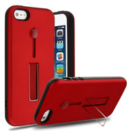 Finger Loop Case with Kickstand for iPhone SE / 5S / 5 - Red