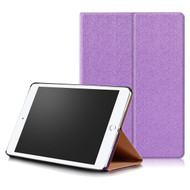 Ultra Slim Smart Leather Stand Case with Auto Sleep / Wake for iPad (2018/2017) / iPad Air - Purple
