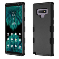 Military Grade Certified TUFF Hybrid Armor Case for Samsung Galaxy Note 9 - Black