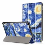 Premium Smart Leather Hybrid Case for iPad (2018/2017) / iPad Air - Starry Night