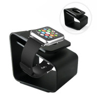 Aluminum Desktop Charging Dock Stand for Apple Watch - Black