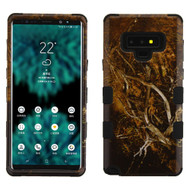 Military Grade Certified TUFF Image Hybrid Armor Case for Samsung Galaxy Note 9 - Tree Camouflage