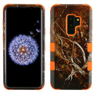 Military Grade Certified TUFF Image Hybrid Armor Case for Samsung Galaxy S9 Plus - Tree Camouflage 011