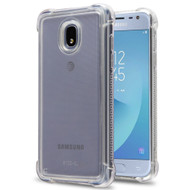 Tough Snap-on Crystal Fusion Case for Samsung Galaxy J3 (2018) - Clear