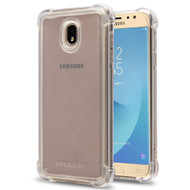 Tough Snap-on Crystal Fusion Case for Samsung Galaxy J7 (2018) - Clear